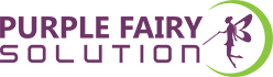 purple fairy logo